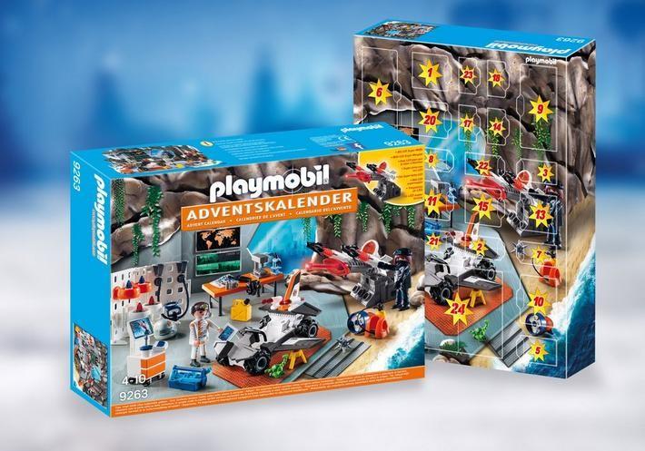 Playmobil Christmas - Advent Calendar - Top Agents